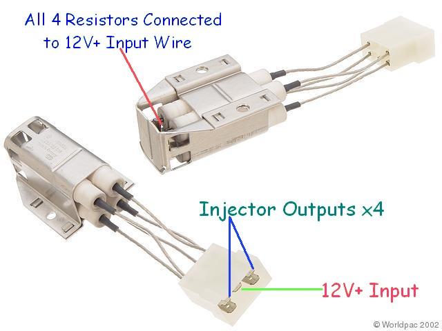 resistor pack turbobricks forums rh forums tbforums com supra resistor pack wiring injector resistor pack wiring